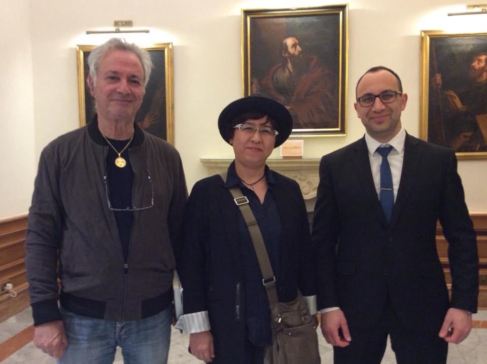 2018年4月 マルタ共和国の外務省を訪問